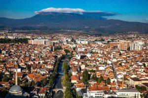 View of Prizren, Kosovo, Europe